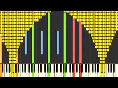 Black MIDI Synthesia – Carol of the Bells Trans Siberian Orchestra 191,000   BusiedGem kharasach com