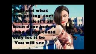 Cher Lloyd - Complicated (lyrics with pictures)