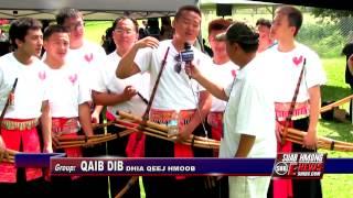 Suab Hmong E-News: Khene (Qeej) Dancer Group QAIB DIB at 2014 Hmong Freedom Celebration
