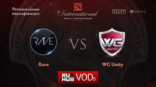 Rave vs WGU, game 1
