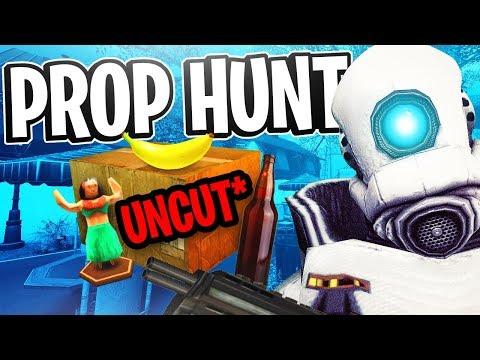 Garrys Mod - Garry's Mod Prop Hunt w/ Friendos #6 - Portal Boys