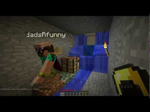Minecraft Missions: Infiltrate! 5/6 (Flint & Steel with dadsRfunny)