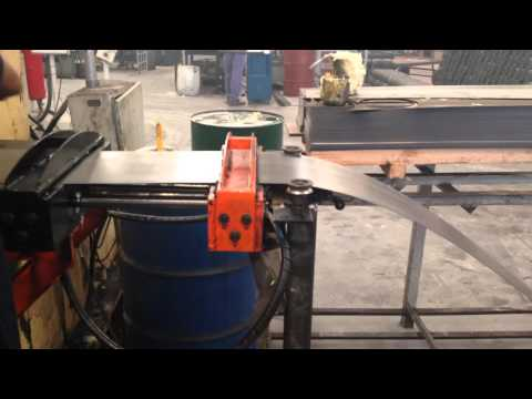FEEDER AND AUTOMATIC PLATES unwinder