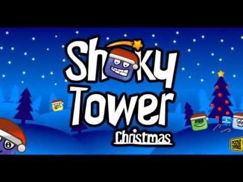 Video of ShakyTower Christmas