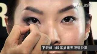 RICK CHIN教化妝 -  CHAPTER 16  煙燻眼迎聖誕