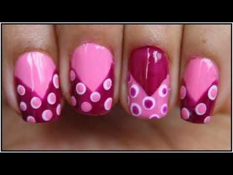 Modelos de uñas - Uñas decoradas en casa Sencillas Faciles y Elegantes