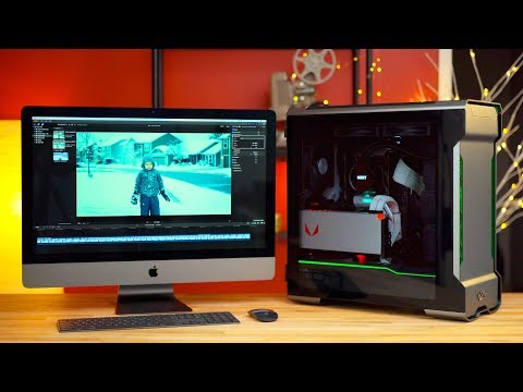 Hackintosh vs iMac Pro for Video Editing in 2019? Bizon V5000