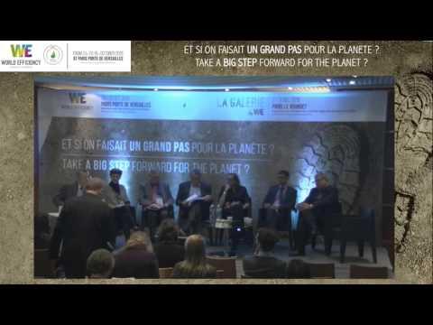 Économie circulaire au service de la préservation des ressources et du climat : Table ronde OREE à World Efficiency