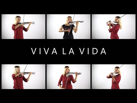 "Coldplay  ""Viva la Vida"" Cover by Anastasia Soina"
