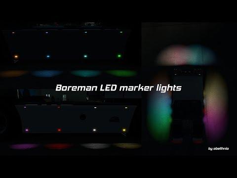 [ETS/ATS] Boreman LED Marker Lights v1.5