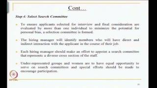 Mod-03 Lec-35 Elements Of Human Resources Planning Contd..