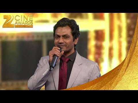 ZCA 2016 Best actor in negative role Nawazuddin Siddiqui