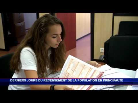 Le recensement de la population monégasque touche à sa fin