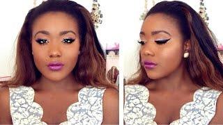 Simple Everyday Fall Makeup Tutorial  Zendaya Inspired 2015
