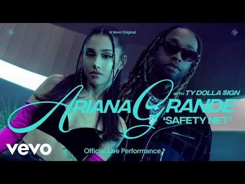 Ariana Grande - safety net ft. Ty Dolla $ign (Official Live Performance)   Vevo