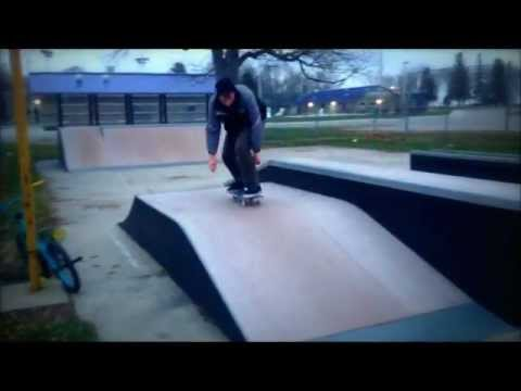Eagle Grove Skatepark with Kyle