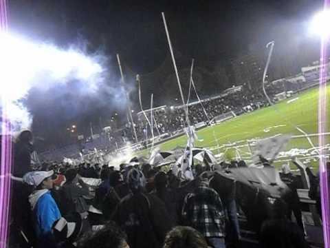 Recibimiento - Danubio vs Olimpia | Copa Sudamericana 2012 - Los Danu Stones - Danubio