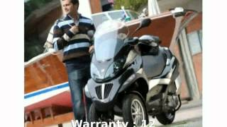 8. 2010 Piaggio MP3 Three Wheeler 250 - Features