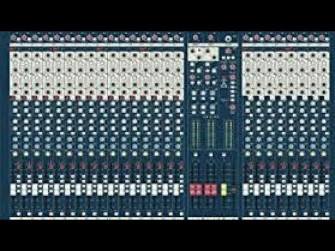 Lx7 Soundcraft 24 Channel Mixer Full Tutorial In Hindi By Sound Operator