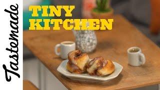 Tiny Cinnamon Roll l Tiny Kitchen by Tastemade