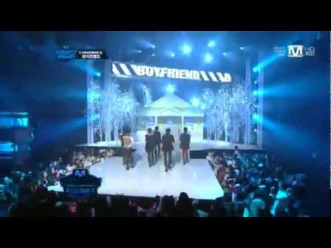 111208 Boyfriend - Couple , Not One But Two , I'll Be There _ Live @M! Countdown