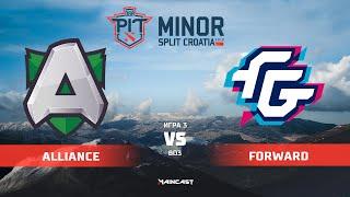Alliance vs Forward Gaming (карта 3), OGA Dota PIT Minor 2019, | Групповой этап
