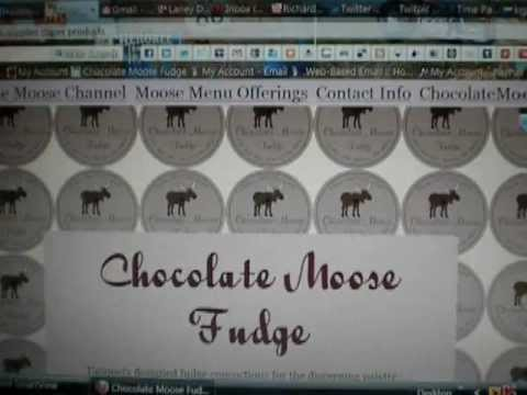 ~ How To Place An Order With Chocolate Moose Fudge ~