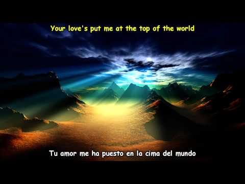 The Carpenters - Top Of The World (Lyrics) Subtitulos Español