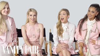 Video Ariana Grande and The Cast of Scream Queens Have an Ice Cream Taste-Off MP3, 3GP, MP4, WEBM, AVI, FLV September 2018