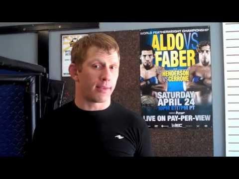 Matt Mitrione UFC 113 MMA Training Blog Video #4 - Eric Red Schafer Talks Mitrione
