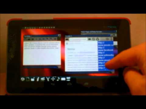 Video of Multiscreen Multitasking Phone