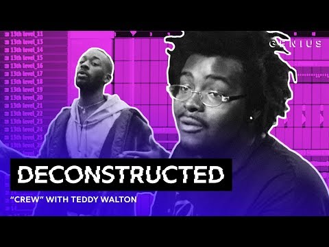 "The Making Of GoldLink's ""Crew"" Feat. Brent Faiyaz & Shy Glizzy With Teddy Walton 