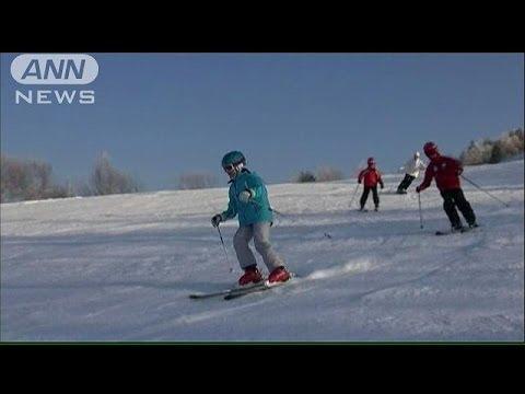 愛子さまきょう中学校入学式 春休みにはスキー(14/04/06)