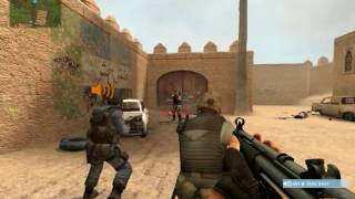 counter strike source- gameplay [dust 2]