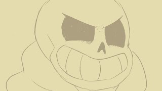 UNDERTALE: Sans can Sing? ~ Animatic ~