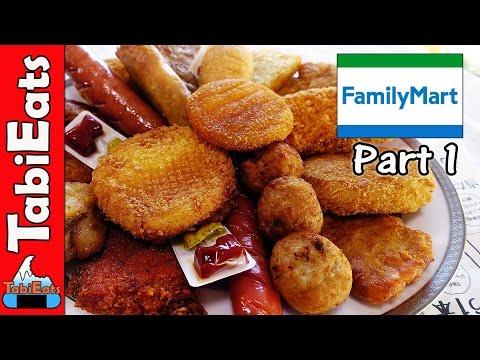 Japan Convenience Store Taste Test Foods Family Mart Pt