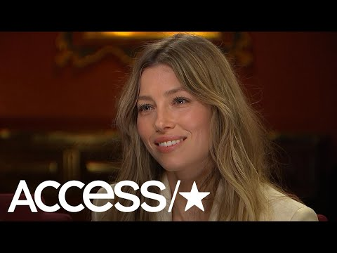 Jessica Biel Talks Vaginas & Husband Justin Timberlake's Super Bowl Performance | Access