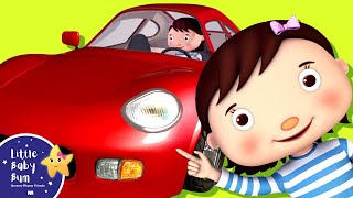 Little Baby Bum   Driving in My Car Song   Nursery Rhymes for Babies   Videos for Kids