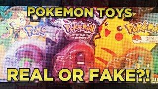 Pokémon Toys - REAL OR FAKE? by Karlos Pokemon