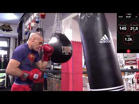 Tutorial Boxe allenamento con lo smartphone ed i sensori Hykso