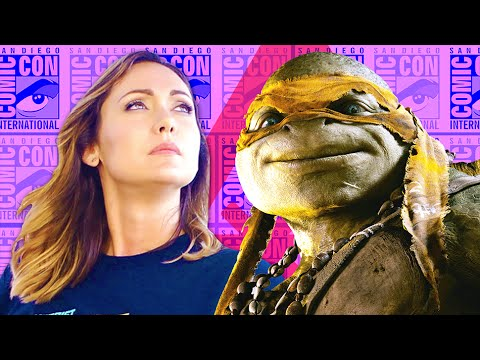 Footage - See new TMNT footage, a new SPONGEBOB SQUAREPANTS movie, Robert Patrick tells us what he wants to cosplay as, we catch up with CM Punk and INTERSTELLAR Aliens? Find out on Nerdist News with...