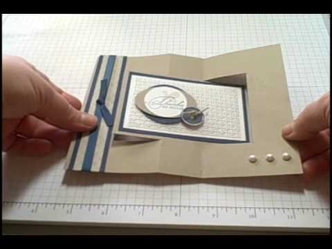 Cards - Swing cards are so much fun to make! Follow this step by step tutorial and you will be creating this fancy fold card in no time.