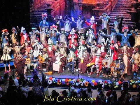 """Coro """"La Mansión encantada"""" (Cuartos de final) Carnaval de Isla Cristina"""
