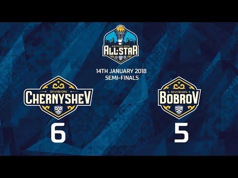 Матч Звезд КХЛ 2018. Чернышёв 6 Бобров 5 (видео)