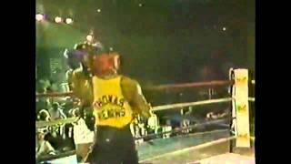 Muhammad Ali V Tommy Hearns - 1981 Sparring Exhibition