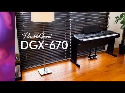 Yamaha DGX-670 Portable Grand digitális zongora