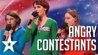 Video Acts With Attitude: 5 Angriest Contestants on Got Talent MP3, 3GP, MP4, WEBM, AVI, FLV Desember 2018