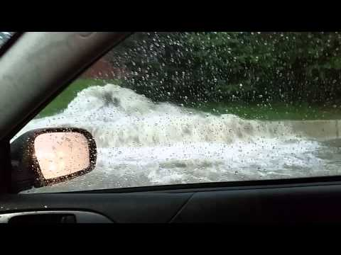 Did you see Detroit's flooding? Whoa!