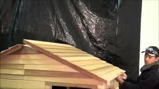 Assembling a Cedarshed Playhouse