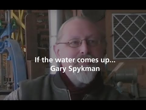 Furniture maker Gary Spykman talks about an insurance issue that arose after his studio was flooded.